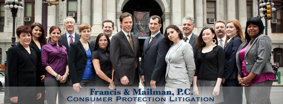 Francis and Mailman Consumer Protection Attorneys