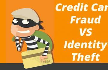 Credit Card Fraud vs Identity Theft